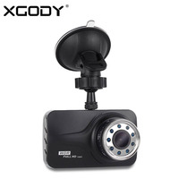 XGODY 3 Inch Car DVR Full HD 1080P Vehicle Car Video Recorder Camera Dash Cam IR