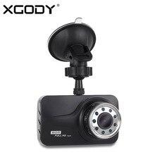 Xgody 3 Дюймов Автомобиля Камера Ночного Видения С 9 Шт. Из ИК Огни Вождение Автомобиля Видеорегистратор Зеркало Видеорегистратор Full Hd 1080 P Dashcam