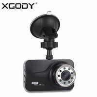 Xgody 3 ''wideorejestrator samochodowy Night Vision Cam z 9 Ir oświetlenie samochodu Dashcams rejestrator wideo wideorejestrator samochodowy z językiem rosyjskim