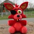25 cm FNAF felpa de peluche Cinco Noches En Freddy Freddy chica bonnie foxy fnaf Muñeca de Felpa y Rellenas juguetes