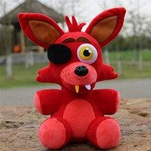 25cm FNAF plush toy Five Nights At Freddy's plush Freddy chica bonnie foxy Plush & Stuffed fnaf Doll Toys