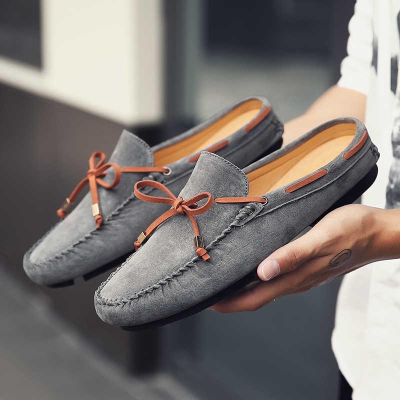 a5e0a5262fe6 Для мужчин повседневная обувь замшевые Для мужчин Туфли без каблуков Новый  Для мужчин Повседневное кроссовки Высококачественные