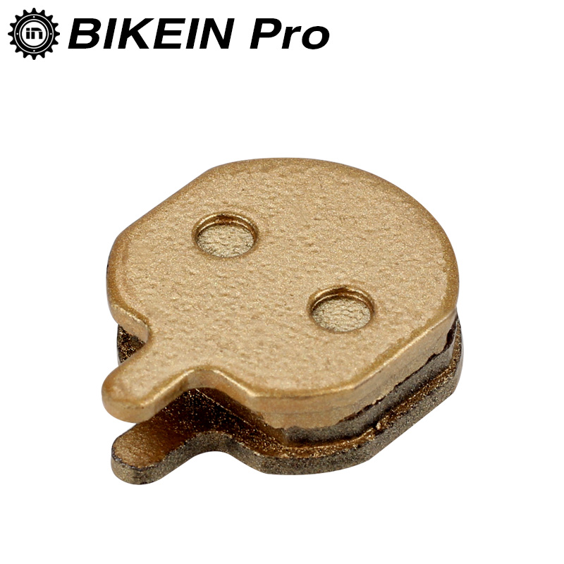 BIKEIN 1 Pair Road Mountain Bike Bicycle Gold Metallic Hydraulic Disc Brake Pads For Hayes Sole MX2/ MX3/ MX4/ MX5 CX5 GX-C GX2