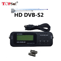 Najnowszy Sathero SH-100HD Pocket Digital Satellite Finder Miernik Satelitarny HD Sat Finder Sygnału z DVBS2 USB 2.0 pk 6933