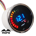 "SPECIAL OFFER Smoke Lens Dia: 2"" 20 LCD Digital Racing Car 52mm Water Temp Gauge Meter With Temperature Sensor & Logo"