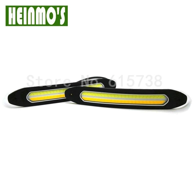 Bil kørelys og blinklys foran Flexibel DRL bildagslampe 12V For Ford - Billygter - Foto 3