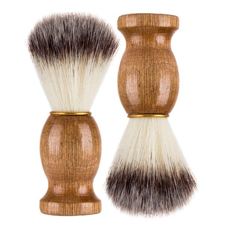Schönheit & Gesundheit Bad & Dusche Motiviert Männer Rasieren Bär Pinsel Bär Reinigung Pinsel Beste Dachs Haar Rasieren Holzgriff Barber Razor Werkzeug Rasieren Pinsel AusgewäHltes Material