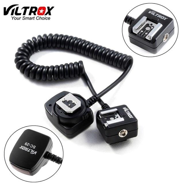 Viltrox SC 29 1M TTL قبالة فلاش كاميرا الحذاء الساخن مزامنة الحبل كابل لنيكون 8 SB 910 SB 900 SB 800 SB 600 SB 16B/20/21B/27/28