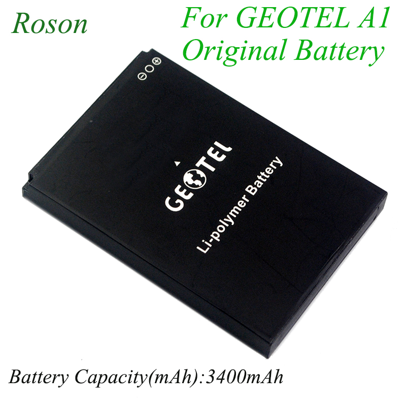 Roson Mobile Phone Battery for GEOTEL A1,3400mAh New Back up Batteries Replacement For GEOTEL A1 Smart CellPhone li-ion BatteryRoson Mobile Phone Battery for GEOTEL A1,3400mAh New Back up Batteries Replacement For GEOTEL A1 Smart CellPhone li-ion Battery