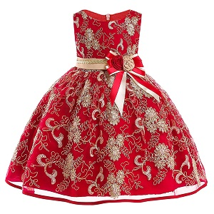 Autumn-Winter-Lace-high-grade-Dress-For-Baby-Girl-Gown-Birthday-Outfits-Children-Wedding-Dresses-Girl