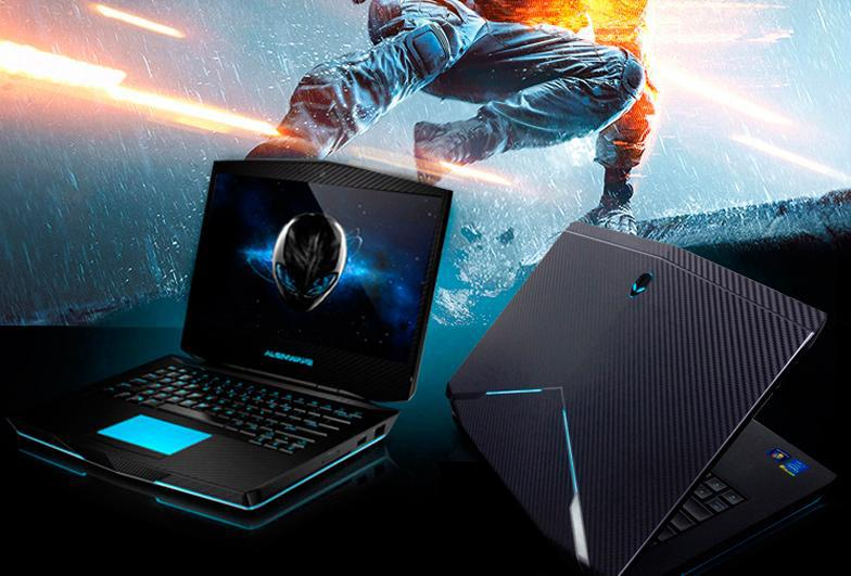 KH Special Laptop carbon leather skin cover guard protector For DELL Alienware 13 M13X-in Laptop