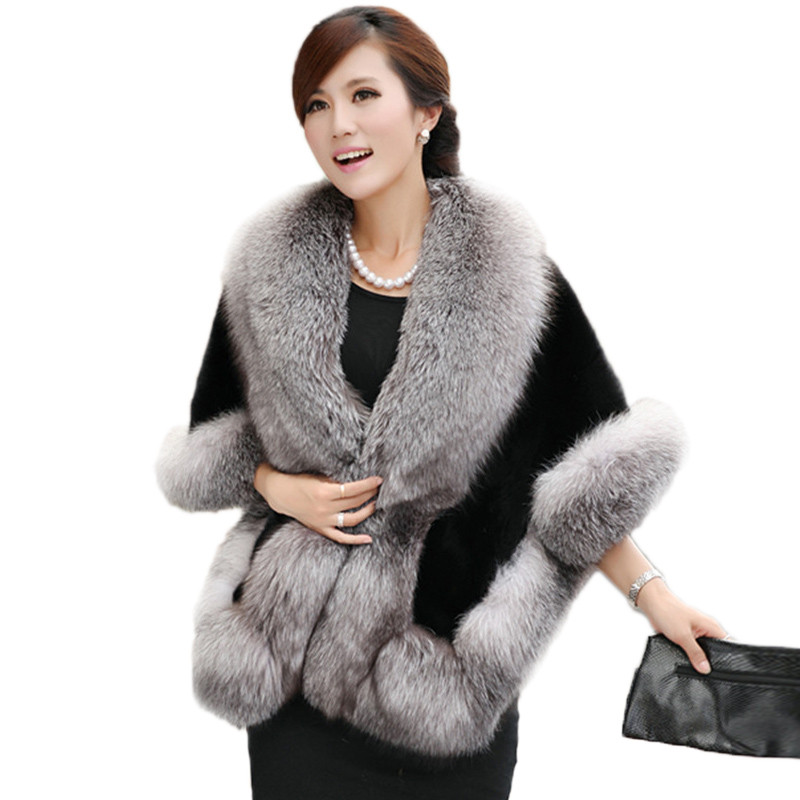 Online Get Cheap Fur Cape Coat -Aliexpress.com | Alibaba Group