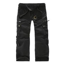 PANTS Airborne Jeans Trouser Male Casual Plus Size Cotton baggy Pocket MILITARYS tyle Army Camouflage CARGO PANTS Men