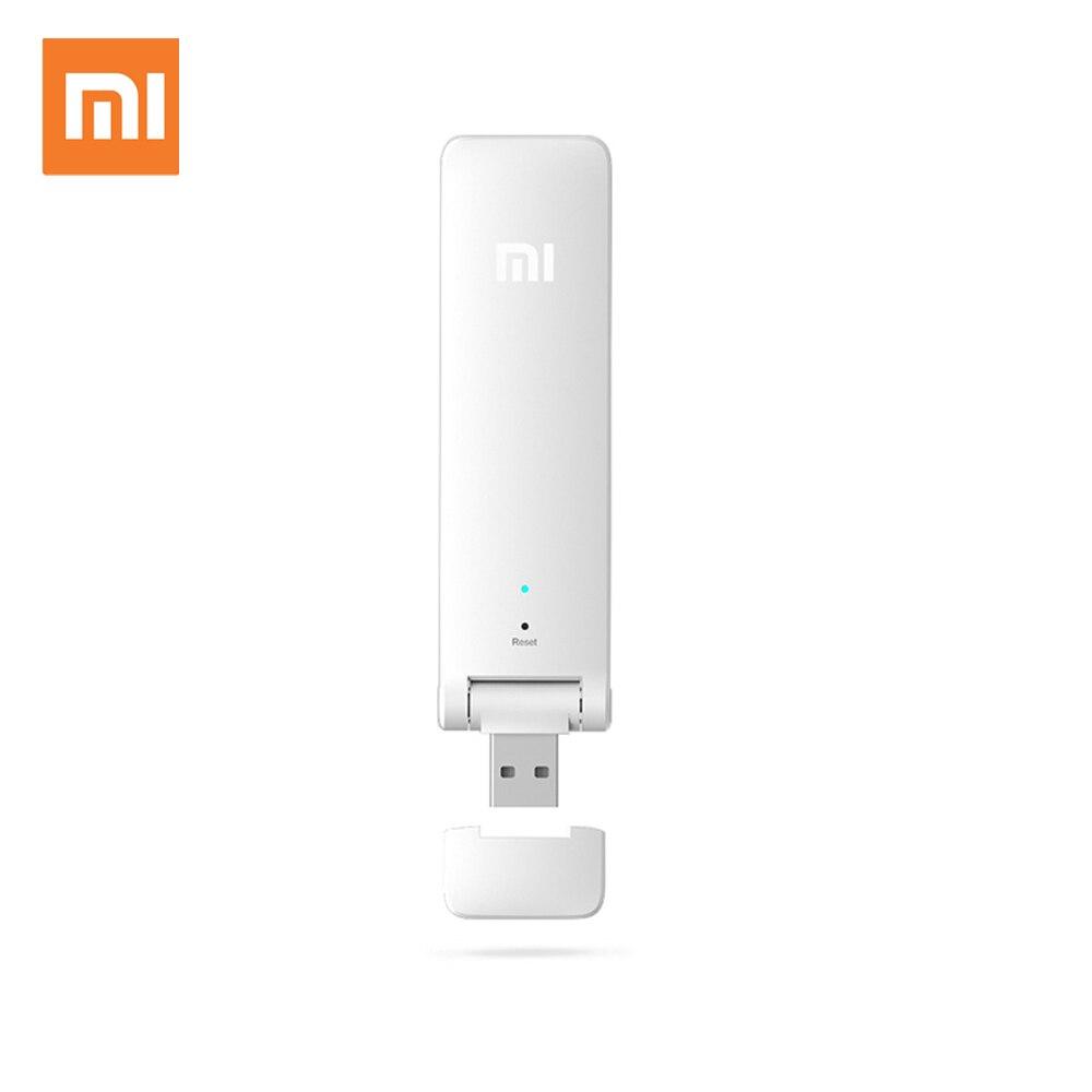 Xiaomi WiFi Verstärker 2 Mi 300 Mbps Expander Wireless Router Mini Wi-Fi Repeater Netzwerk Expander USB Power Universal Repitidor