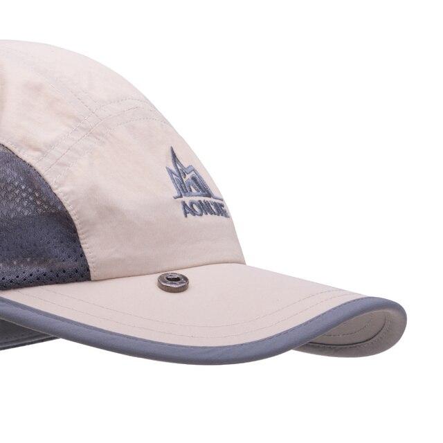 AONIJIE E4089 Hat Sun Visor Cap Hat UPF 50 Sun Protection Removable Ear Neck Flap 3