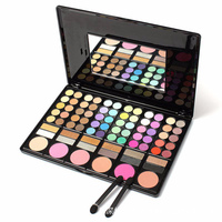 Fashion Eyeshadow Palette Matte 78 Colors Matte Shimmer Earth Color Makeup Palette Eyeshadow Nude Pigments