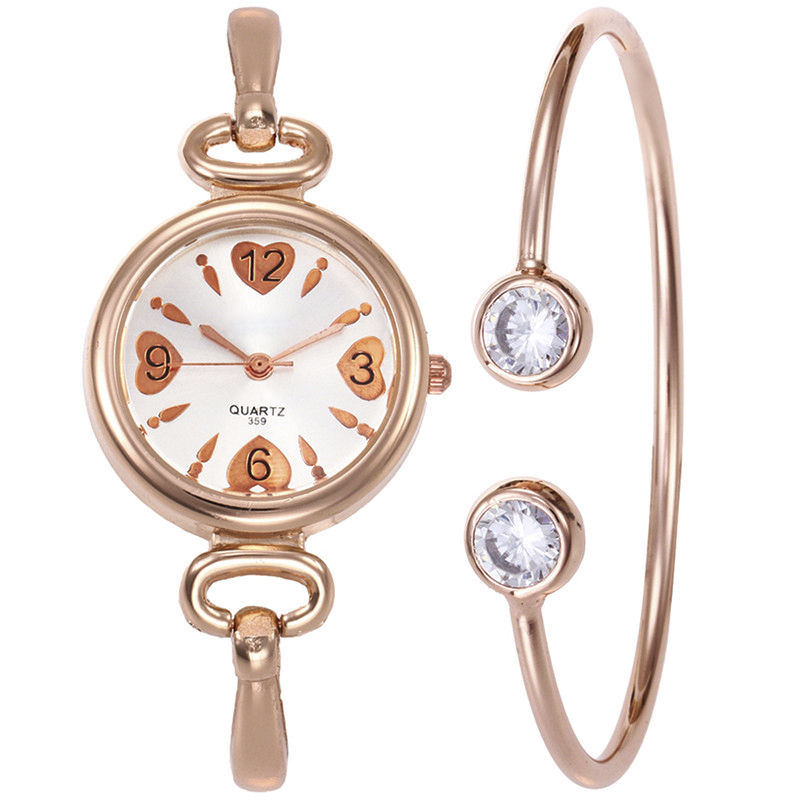 цена на LASPERAL Shining Rhinestone Women Bracelet Watch Set Adjustable Bangle Jewelry Crystal Gifts Set Steel Quartz Ladies Clock Watch