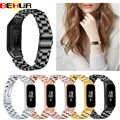 Bracelet de montre de mode pour Samsung Galaxy fit-e SM-R375 R375 Bracelet intelligent hommes femmes remplacement Bracelet de montre en acier inoxydable