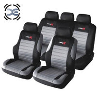5 Seats Cloth Art Gray Seat Cover Compatible Fit Most Car Protects Seats From Wear Automobiles Interior Accessories T135