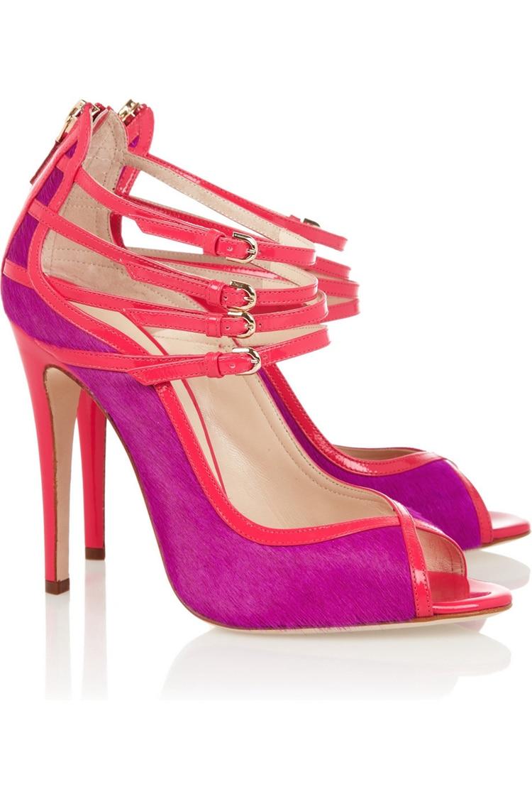 Popular Hot Pink Open Toe Pumps-Buy Cheap Hot Pink Open Toe Pumps ...