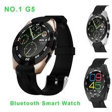 2016 neue NO. 1 G5 Ultradünne Smartwatch MTK2502 Herzfrequenz smart watch fitness tracker rufen sms erinnerung kamera für android IOS