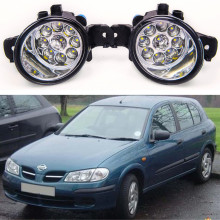 For NISSAN ALMERA 2 (N16) 2001-2006 Car styling LED fog Lights high brightness fog lamps1set