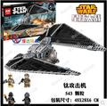 Hot sale Lepin 05048 543Pcs Star War Seiers The TIE Striker Building Blocks Bricks Toys Compatible 75154 gift boy