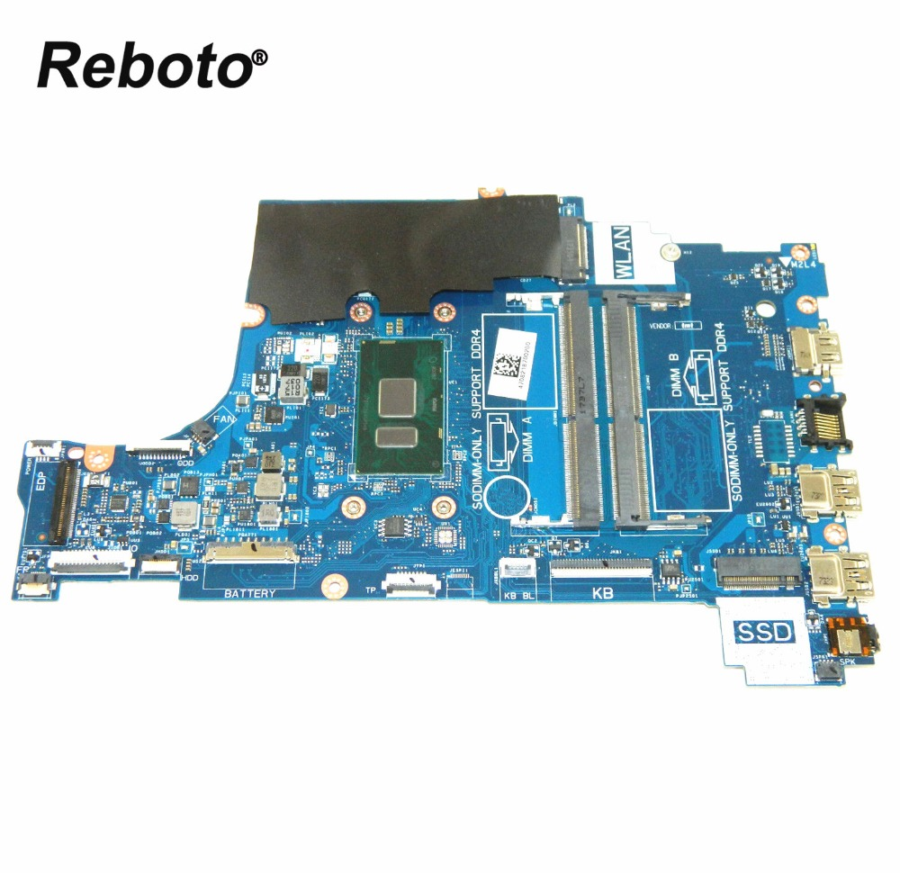 Reboto For DELL Inspiron 15 5570 Laptop Motherboard CN 03K7G5 03K7G5 3K7G5 CAL60 LA F114P DDR4