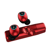 M8 TWS HiFi Stereo Red Mini Bluetooth 5.0 Headset Wireless Earphone Noice Cancelling True Wireless Earbuds Sport Earphones недорого