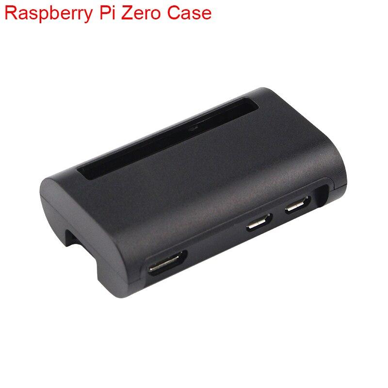 New Raspberry Pi Zero W Case Black ABS Box Cover Shell RPI Zero Enclosure Cases Box