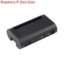 Новый Raspberry Pi zero ж Case Черный ABS крышку коробки В виде ракушки RPI zero корпус Чехол коробка для Raspberry Pi Zero W