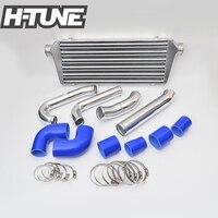 H TUNE 4x4 Pickup Front Mount Turbo Diesel Intercooler Piping Kit for Hilux Vigo KUN15/25 2.5L 05 11