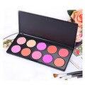 10 Color Professional Blush Makeup Palette For Women Cheek Make Up Blush Powder Maquiagem Cosmetic Set Kit
