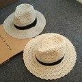 2017 ГОРЯЧАЯ Новая Мода вс шляпы Летом Ажурные кружева вс Топпер шляпа Пляж шляпа для женщин дамы Большой брим hat бесплатная доставка