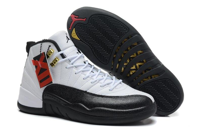Free Shipping JORDAN Air Retro 12 Basketball Shoes High-Top Sneakers Basketball Shoes Unisex Jordan 12 original adidas men s basketball shoes g98295 g98297 sneakers unisex free shipping
