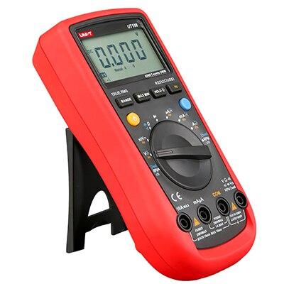UNI-T UT108 Automotive Multimeter AC DC Volt Amp Ohm Hz Temp Meters 2000 Counts Multi-Purpose Meters original uni t ut106 handheld manual range automotive multimeter multi purpose meters w temperature