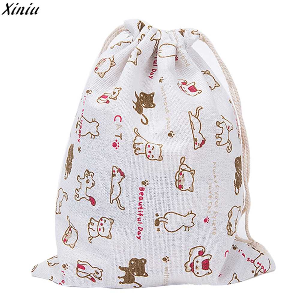7e3d4a81dc Detail Feedback Questions about 2018 Fashion Gift Bags for Children Cotton  Printed Drawstring Bag Shopping Bag Small Bags 3 Sizes on Aliexpress.com ...