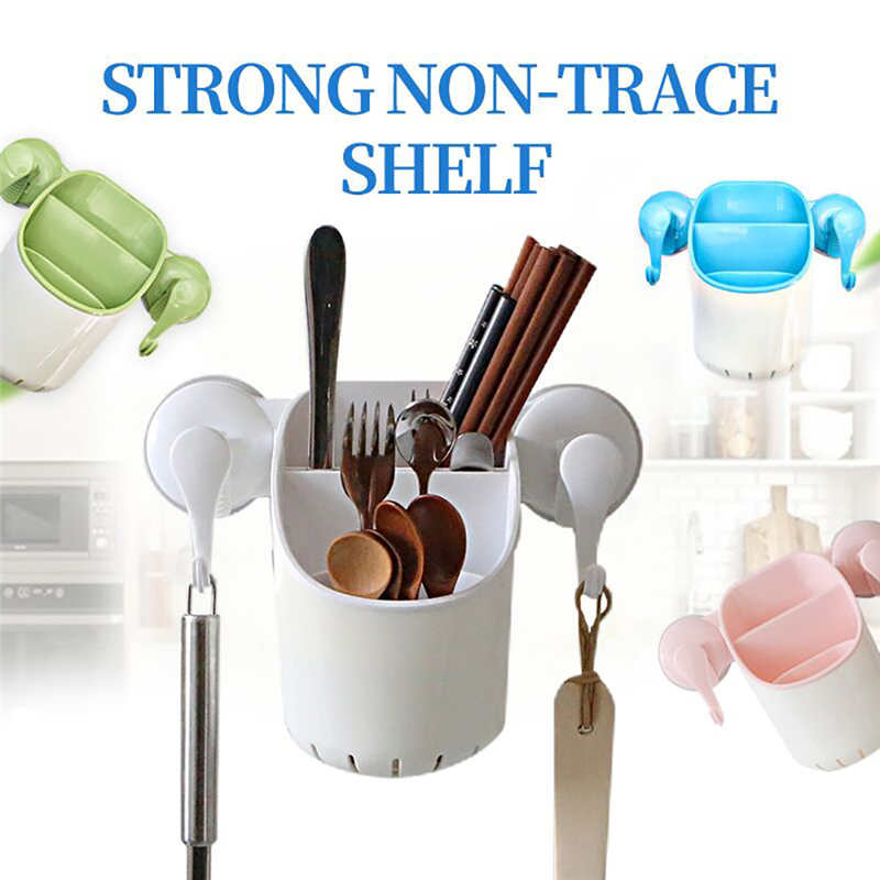 New listing Creative Power Plastic Powerful Suction Cup Garbage Bag Kitchen Clip Garbage Storage Rack Wall Mounted Bracket Stora-in Racks & Holders from Home & Garden