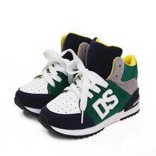 Ventes chaudes Printemps/Automne Enfants Sneakers Mode Bébé Respirant Shoes Garçons Filles de Causalité Shoes PU En Cuir Enfants Sport Bottes