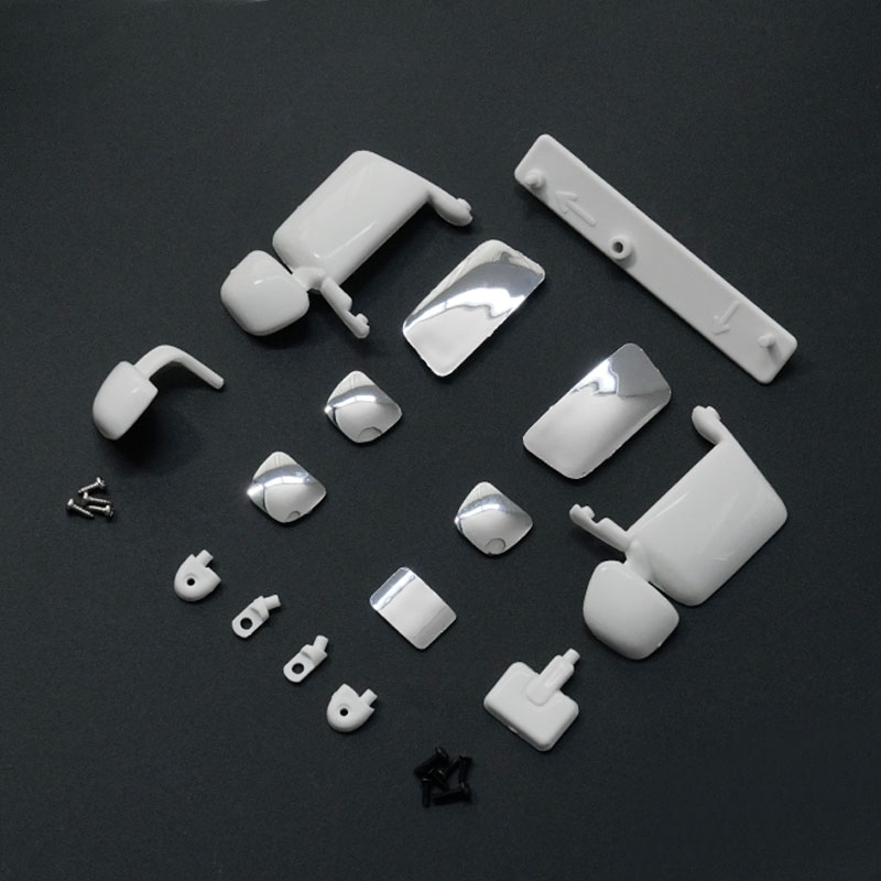 1Set 1/14 Scania R620R470 Mirror Kit S-1245 Rearview Mirrors For 1:14 Tamiya Tractor RC Truck Spare Parts