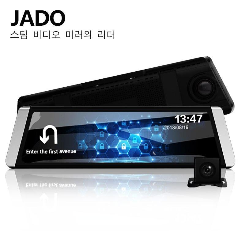 JADO D800 Автомобильный видеорегистратор поток Зеркало заднего вида Камера LDWS gps трек 10 ips Сенсорный экран Full HD 1080p Автомобильные видеорегистрат...