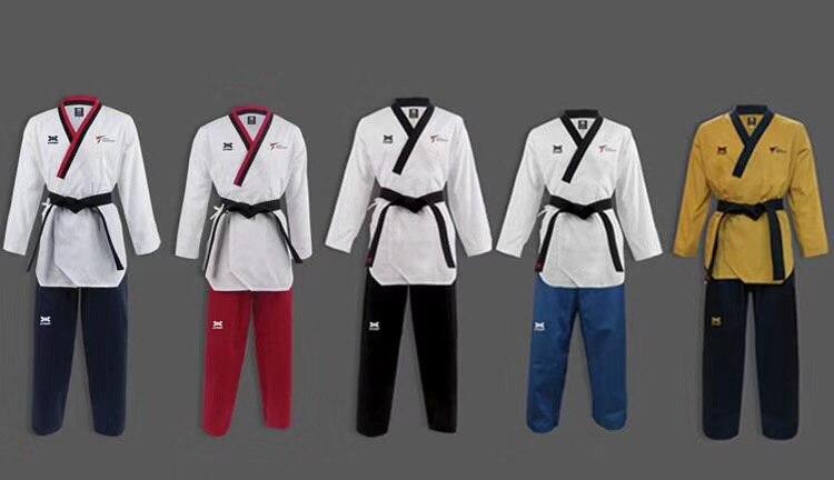Original KPNP World Taekwondo Poomsae Dan doboks KPNP WT Junior Dan Male Female Senior Dan Unisex
