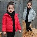 Novos Meninos Meninas Casacos Crianças Casacos Quentes Roupas de Inverno Manga Longa À Prova de Vento Parka Outwear Casaco Para As Crianças da Roupa Do Bebê Infantil