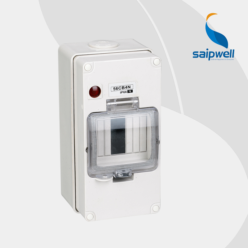 Saip high quality ip66 4 ways electric power distribution box with CE ROHS Approval 200 100
