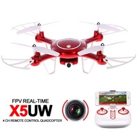 2017 Professional Syma X5UW 4CH RC Drone With Camera HD 2 4G Remote Control Quadcopter With