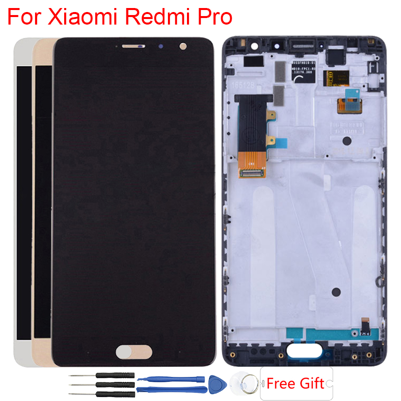 Original OLED Display For Xiaomi Redmi Pro LCD Display With Frame Touch Screen Digitizer Assembly Replacement LCD For Redmi ProOriginal OLED Display For Xiaomi Redmi Pro LCD Display With Frame Touch Screen Digitizer Assembly Replacement LCD For Redmi Pro