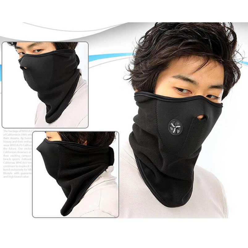 Высококачественная маска для занятий спортом на открытом воздухе и зимняя Лыжная маска и теплая маска на половину лица для езды на велосипеде, езды на велосипеде, спорта на открытом воздухе, Ветрозащитная маска