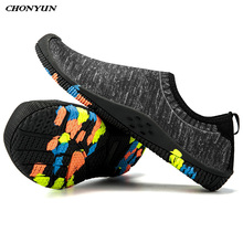 2019 Summer Water Shoes Casual Aqua Shoes Beach Swimming Socks Anti Slip Sports Shoes Outdoor Quick-Dry Walking Sneakers Unisex new arrival original adidas climacool jawpaw slip on unisex aqua shoes outdoor sports sneakers