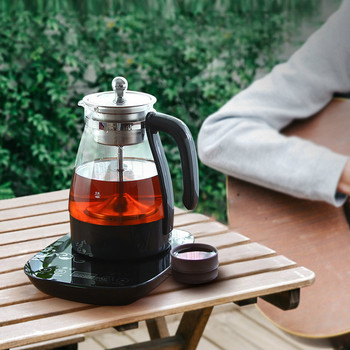 Electric kettle Black tea boiled electric pot of pu 'er machine automatic glass steam cooking Overheat Protection