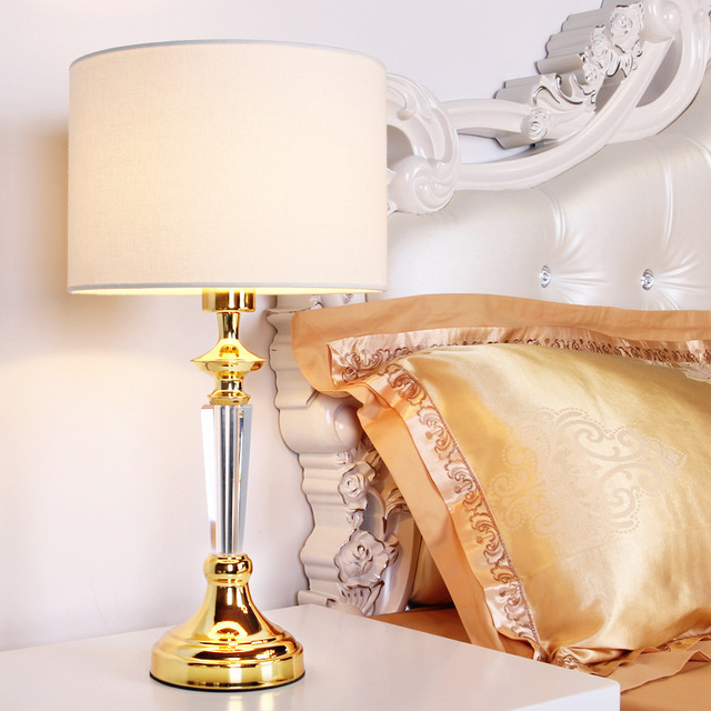 Tuda 26x55cm free shipping luxruy golden table lamp high grade tuda 26x55cm free shipping luxruy golden table lamp high grade crystal table lamp cloth lampshade dimming aloadofball Choice Image